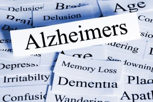 Alzheimers Concept - a conceptual look at Alzheimers disease, and some of the problems it brings.