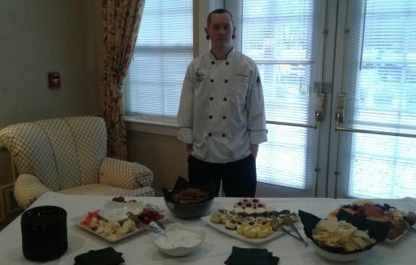 Meet Terry Gallagher, Dining Services Director